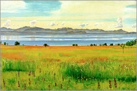 Ferdinand Hodler - Lake Geneva from Saint-Prex