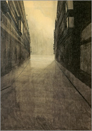 Léon Spilliaert - Court street east