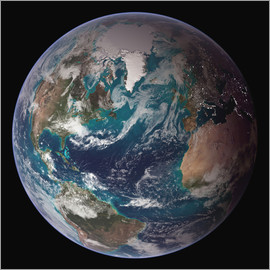 A full view of Earth