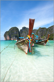Matteo Colombo - Decorated wooden boats, Thailand