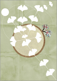 Sabrina Alles Deins - GINGKO TREE BY 5 CLOCK EARLY