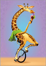 Kidz Collection - Giraffe on the wheel