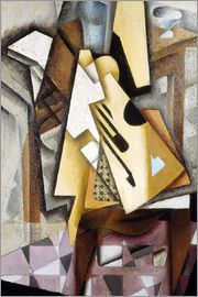 Juan Gris - Guitar on a Chair
