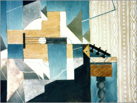 Juan Gris - Guitar on Table