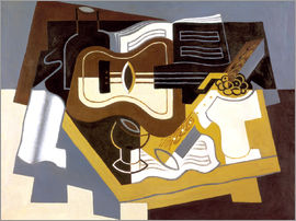 Juan Gris - Guitar and clarinet