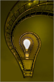 Jaroslaw Blaminsky - Lightbulb shaped staircase