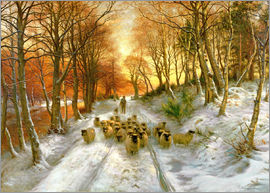 Joseph Farquharson - Glowed with Tints of Evening Hours