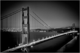 Melanie Viola - Golden Gate Bridge in the Evening