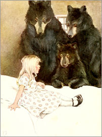 Katharine Pyle - Goldilocks and the Three Bears