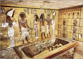 Grave of Tutankhamun in the Valley of the Kings