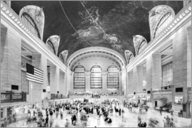 newfrontiers photography - Grand Central Terminal, New York (monochrome)
