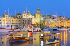 Christian Kober - Grand Harbour Marina, Vittoriosa (Birgu), The Three Cities, Malta, Mediterranean, Europe