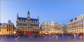 Dieterich Fotografie - Grand Place in Brussels