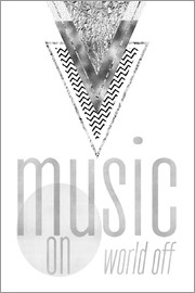 Melanie Viola - GRAPHIC ART SILVER Music on World Off