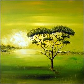 Theheartofart Gena - Green Nature