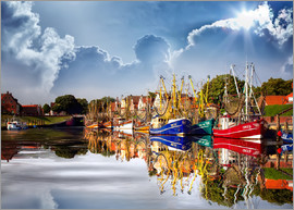 Peter Roder - Greetsiel port