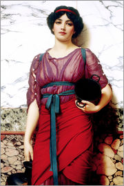 John William Godward - A Grecian Idyll