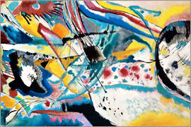 Wassily Kandinsky - Large study mural summer for Edwin R.Campbell