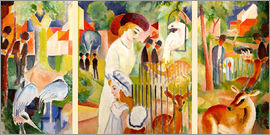 August Macke - Grand jardin zoologique