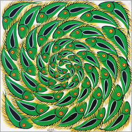 Mrope - Green Swirl Fish