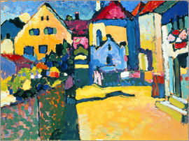 Wassily Kandinsky - Greenalley in Murnau