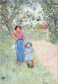 Carl Larsson - Say hello to the nice uncle
