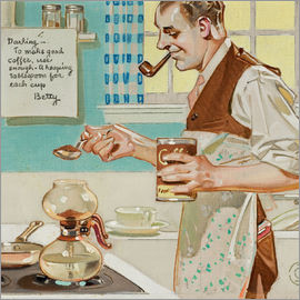 Joseph Christian Leyendecker - Make good coffee