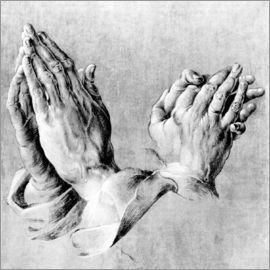 Albrecht Dürer - Hands of the Pope and an apostle
