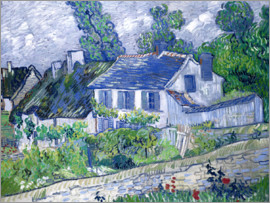 Vincent van Gogh - Houses in Auvers