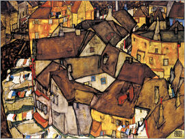 Egon Schiele - Houses in Krumau