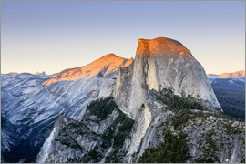 Yves Marcoux - Half Dome at sunset