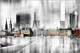 Nettesart - Hamburg Skyline Germany