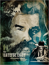 Albert Cagnef - Hateful Eight Poster Lounge