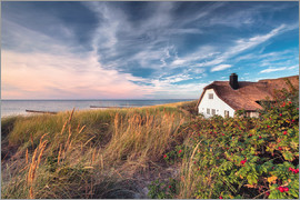Dirk Wiemer - House beside the sea (Ahrenshoop/Darss)
