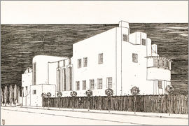 Charles Rennie Mackintosh - House of an art lover
