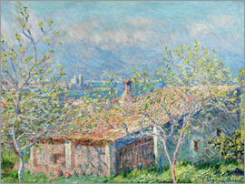 Claude Monet - House between the houses