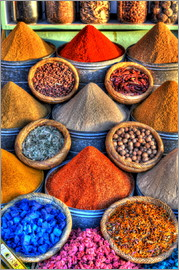 HADYPHOTO by Hady Khandani - HDR   SPICES IN THE BAZAR OF MARRAKECH   MOROCCO 07