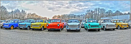 HADYPHOTO by Hady Khandani - HDR PANO   A COLLECTION OF OLD TRABANT   GERMANY