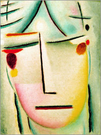 Alexej von Jawlensky - The Saviour's face: starlight