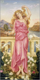 Evelyn De Morgan - Helen of Troy, 1898