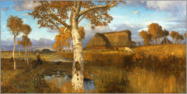 Otto Modersohn - The Marsh in Autumn