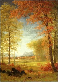 Albert Bierstadt - Autumn in Oneida County, New York