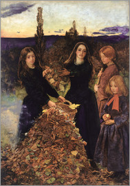 Sir John Everett Millais - Autumn Leaves