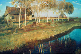 Otto Modersohn - Autumn Morning in the Moor