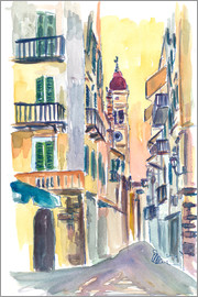 M. Bleichner - Marvellous Corfu Streets in Greece