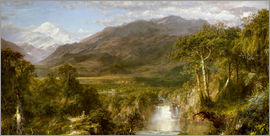 Frederic Edwin Church - Heart of the Andes