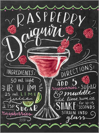 Lily & Val - raspberry daiquiri
