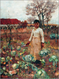 Sir James Guthrie - A Hind's Daughter