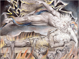 William Blake - Job's Evil Dreams