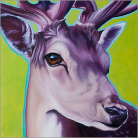 Renate Berghaus - deer green